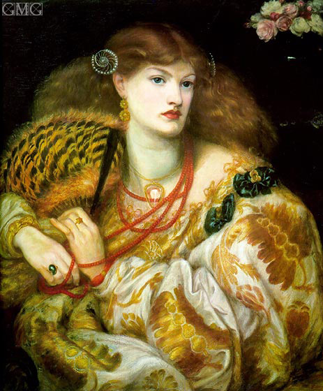 Monna Vanna, 1866 | Rossetti | Painting Reproduction