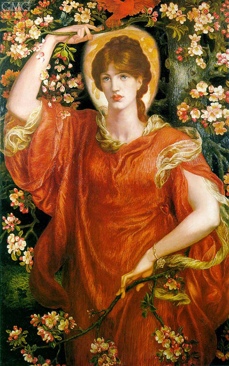 A Vision of Fiammetta, 1878 | Rossetti | Painting Reproduction