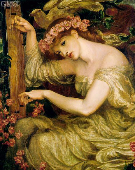 A Sea Spell, 1877 | Rossetti | Painting Reproduction