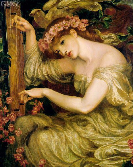 Rossetti | A Sea Spell, 1877