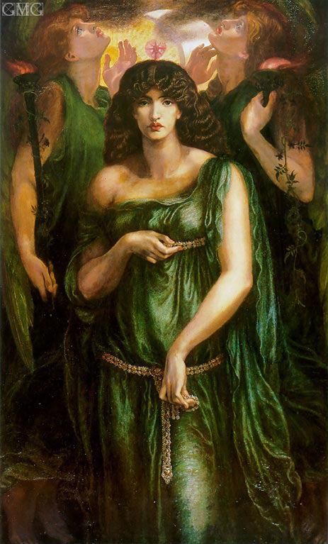 Rossetti | Astarte Syriaca (Syrian Astarte), c.1875/77