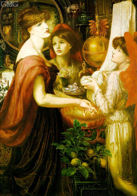 Rossetti | The Beautiful Hand (La Bella Mano), 1875