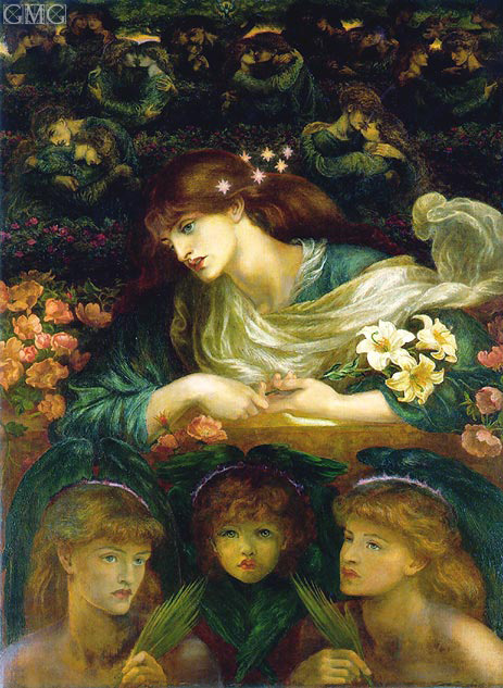 The Blessed Damozel, c.1871/78 | Rossetti | Painting Reproduction