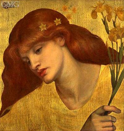 Rossetti | Sancta Lilias, 1874
