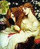 Lady Lilith | Dante Gabriel Rossetti