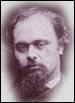 Porträt von Dante Gabriel Rossetti
