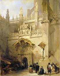 Granada: the Chapel of Ferdinand and Isabella | David Roberts | outdated