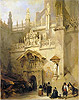 Granada: the Chapel of Ferdinand and Isabella | David Roberts