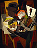 Still Life with Bread and Fruit | Diego Rivera (inspired by)