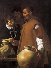 The Waterseller of Seville, c.1620 by Velazquez | Painting Reproduction