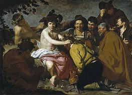 The Triumph of Bacchus, c.1628/29 by Velazquez | Painting Reproduction