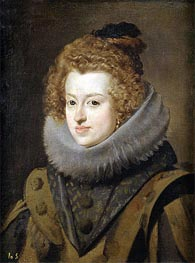 Infanta Maria, Later Queen of Hungary | Velazquez | Painting Reproduction