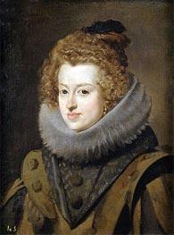 Infanta Maria, Later Queen of Hungary, c.1630 von Velazquez | Gemälde-Reproduktion