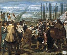 Surrender of Breda (Las Lanzas), c.1634/35 by Velazquez | Painting Reproduction