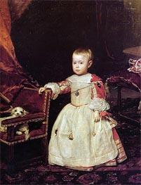 Prince Felipe Prospero | Velazquez | Painting Reproduction