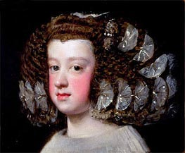 Infanta Maria Teresa | Velazquez | Painting Reproduction