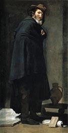 Menippus, c.1639/40 by Velazquez   Painting Reproduction