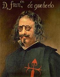 Portrait of Francisco de Quevedo y Villegas | Velazquez | Painting Reproduction