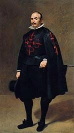 Portrait of Don Pedro de Barberana, c.1631/33 by Velazquez | Painting Reproduction