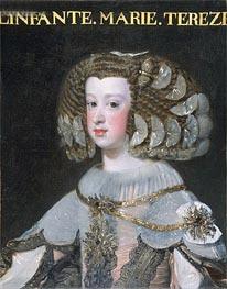 Portrait of the Infanta Maria Teresa | Velazquez | Painting Reproduction