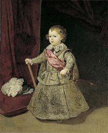 Prince Baltasar Carlos in Silver | Velazquez | Painting Reproduction