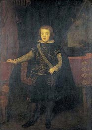 Prince Baltasar Carlos in Black and Silver | Velazquez | Painting Reproduction
