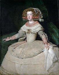 Infanta Maria Teresa, c.1652/53 by Velazquez | Painting Reproduction