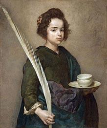Saint Rufina | Velazquez | Painting Reproduction