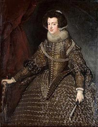 Queen Isabel of Spain | Velazquez | Painting Reproduction