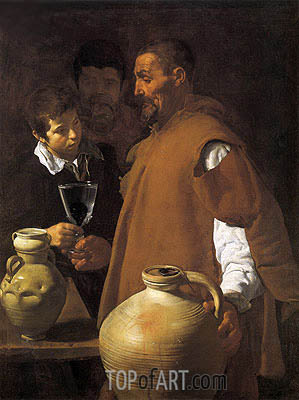 The Waterseller of Seville, c.1620 | Velazquez| Gemälde Reproduktion