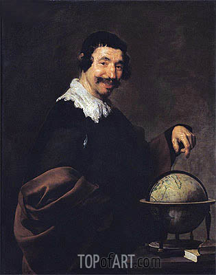 Democrite, c.1628/29 | Velazquez | Gemälde Reproduktion