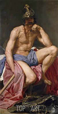 Mars, c.1641 | Velazquez | Gemälde Reproduktion