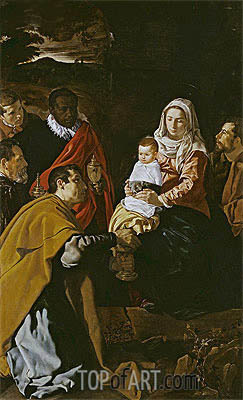 The Adoration of the Magi, 1619 | Velazquez| Painting Reproduction