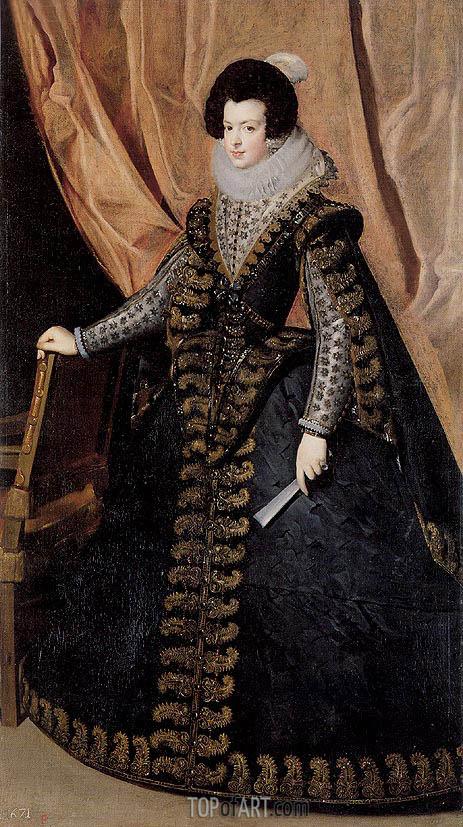 Velazquez | Queen Isabel, Standing, c.1631/32
