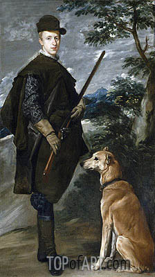 Velazquez | Cardinal-Infante Fernando de Austria, c.1633