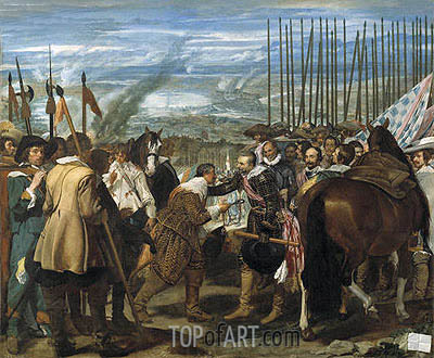 Surrender of Breda (Las Lanzas), c.1634/35 | Velazquez | Painting Reproduction