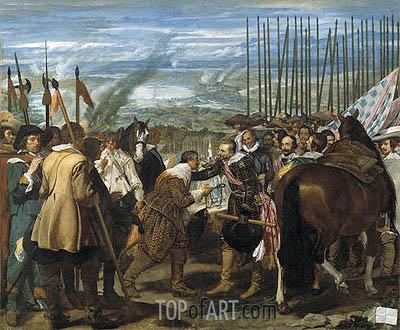 Velazquez | Surrender of Breda (Las Lanzas), c.1634/35