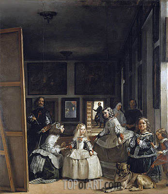 Velazquez | Las Meninas (The Maids of Honor), c.1656