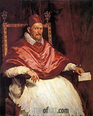 Velazquez | Pope Innocent X, c.1650