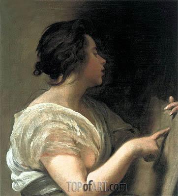 Velazquez   Female Figure (Sibyl with Tabula Rasa), c.1648