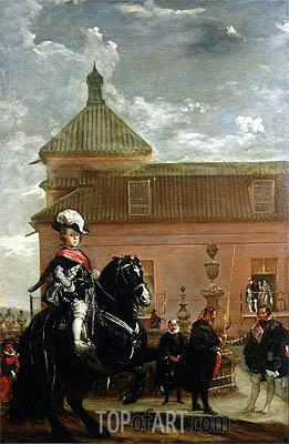 Velazquez   Prince Baltasar Carlos with Count-Duke of Olivares, c.1636