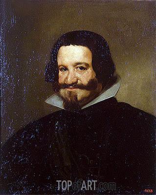 Portrait of Count-Duke Olivares, 1638 | Velazquez | Painting Reproduction