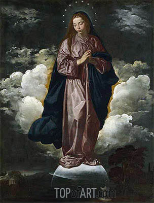 Velazquez | The Immaculate Conception, c.1618