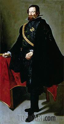 Velazquez | Don Gaspar de Guzman Count-Duke de Olivares, Undated