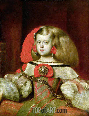 Velazquez | Portrait of the Infanta Margarita,