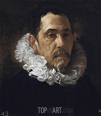 Francisco Pacheco, c.1619/22 | Velazquez | Painting Reproduction