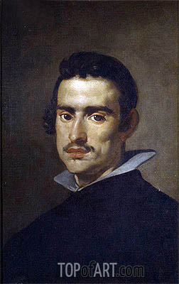 Portrait of a Man, c.1623 | Velazquez | Painting Reproduction