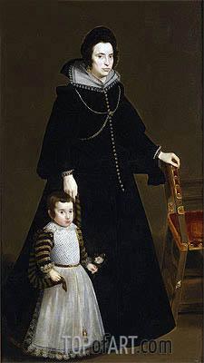 Velazquez | Antonia de Ipenarrieta y Galdos and her Son, Luis, c.1631