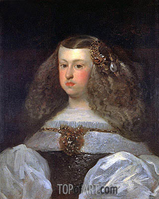 Velazquez | Dona Mariana of Austria, Queen of Spain, 1649