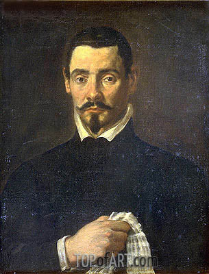 Portrait of a Man, undated | Velazquez | Gemälde Reproduktion
